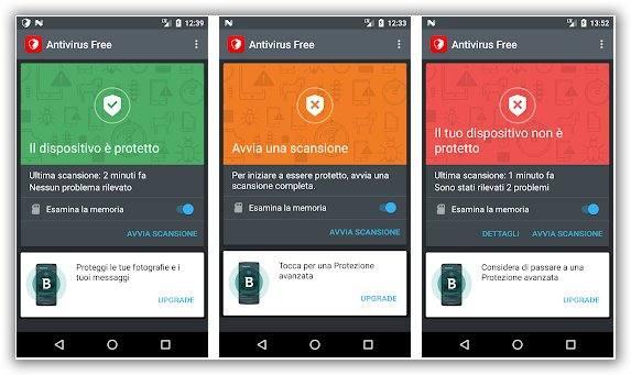 immagine bitdefender antivirus gratis per android