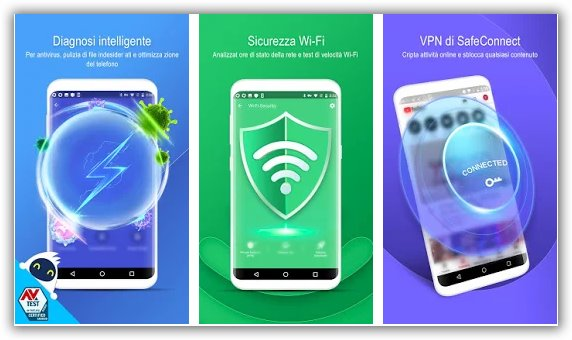 immagine di security master antivirus gratuito per android