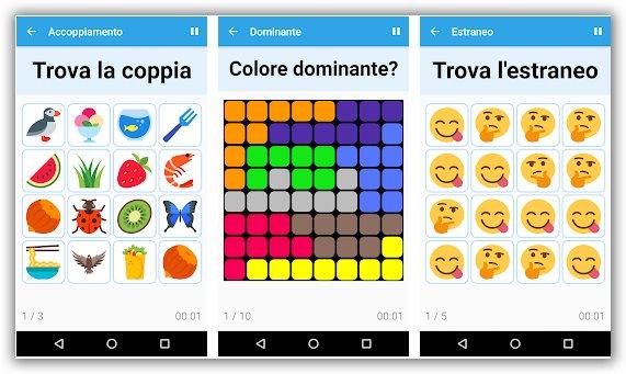 giochi per la mente 3 nuove app