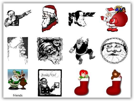 clip art gratis per Natale