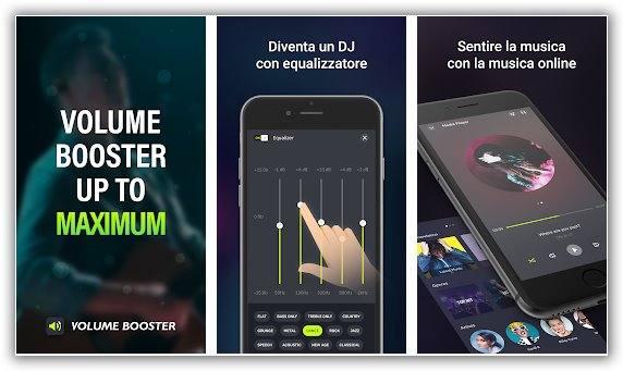 aumentare audio di un telefonino android con un app