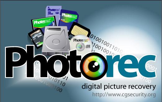 immagine di photorec